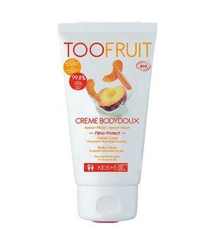 Toofruit, Odżywczy balsam do ciała dla dzieci, BRZOSKWINIA I MORELA,  chroni i odżywia, dla suchej skóry, 150ml-Toofruit