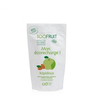 Toofruit, Szampon dermo-kojący dla dzieci, Zielone jabłko i Migdały, Uzupełnienie, 400ml-Toofruit