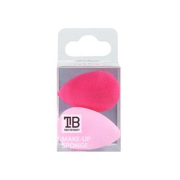 Tools For Beauty, gąbka do aplikacji korektora, Mini, różowy, 2 szt.-Tools For Beauty