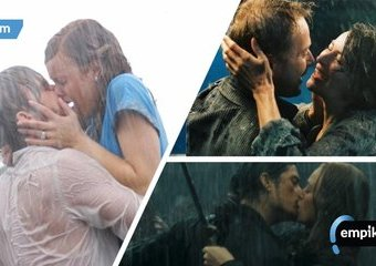 TOP 10 filmowych pocałunków w deszczu