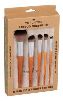 Top Choice Zestaw pędzli do makijażu 5 szt. Bamboo (37474) 1 op.-Top Choice