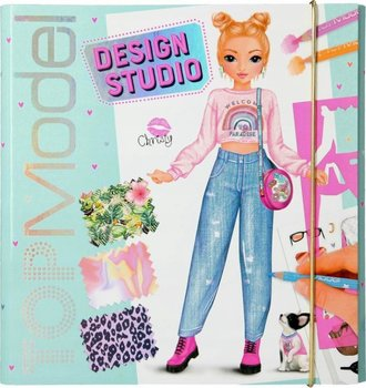 Top Model, kreatywny szkicownik i naklejki 11251_a