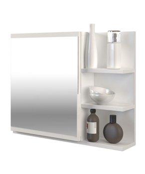 Topeshop, Lustro, Lumo, białe, 50x60x141 cm-Topeshop