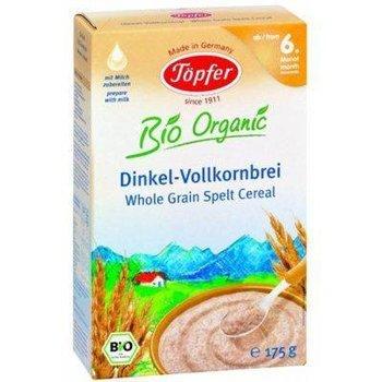 Topfer, Kaszka orkiszowa pełnoziarnista, Bio Organic, 6m+, 175 g-Topfer