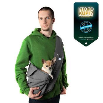 Torba dla psa/Nosidło dla zwierząt LILETINK Harma, rozmiar M, szara-LileTink