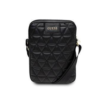 "Torba Guess GUTB10QLBK 10"" czarna/black Quilted Tablet Bag-GUESS"