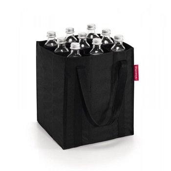 Torba na butelki REISENTHEL, czarny, 24x28x24 cm-Reisenthel