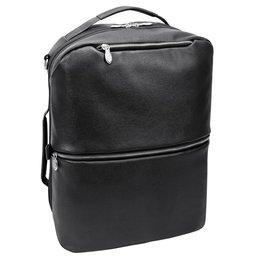 "Torba / Plecak na laptop 17"" McKLEIN East Side Czarna - czarny"