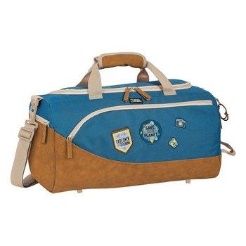 torba sportowa National Geographic Explorer Niebieski Brązowy (25 L)-National geographic