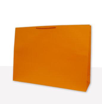 Torebka prezentowa, pomarańczowa-Mer Plus
