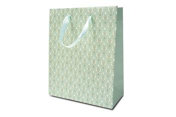 Torebka prezentowa, średnia, zielona-Konsimo