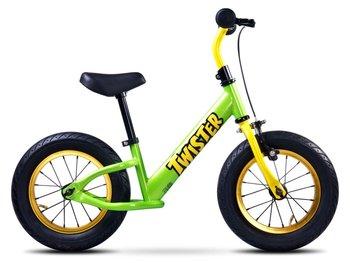 """Toyz, Rowerek biegowy, Twister, 12"""", zielony-Toyz"""