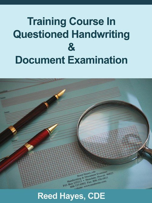 training course in questioned handwriting document With questioned document examination course