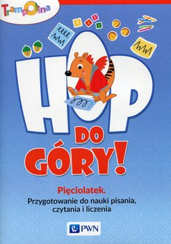 Trampolina. Hop, do góry! Pięciolatek. Przygotowanie do nauki pisania, czytania i liczenia-Głuszniewska Aneta