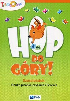 Trampolina Hop do góry! Sześciolatek Nauka pisania czytania i liczenia-Głuszniewska Aneta