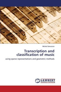 Transcription and classification of music - Genussov Michal