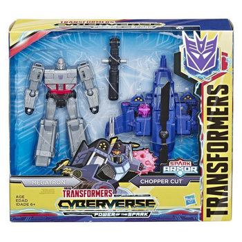 Transformers, figurka kolekcjonerska Cyberverse Spark Armor Megatron-Avengers
