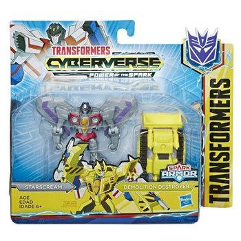 Transformers, figurka kolekcjonerska Cyberverse Spark Armor Starscream-Avengers