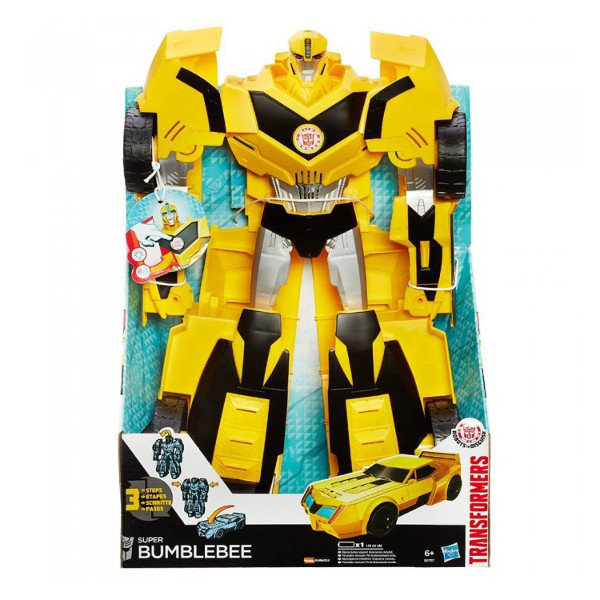 transformers figurka super bumblebee transformers sklep empik com. Black Bedroom Furniture Sets. Home Design Ideas