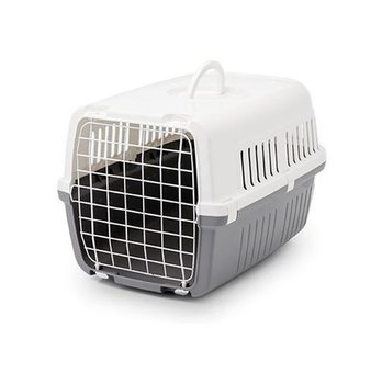 Transporter dla kota SAVIC, szary, 48x32x28 cm-Savic