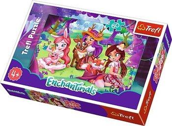 Trefl, Enchantimals, puzzle Popołudnie z przyjaciółmi-Trefl