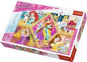 Trefl, Księżniczki, puzzle tradycyjne-Trefl