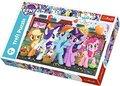 Trefl, My Little Pony, puzzle Kucyki na zakupach-ZACHEM