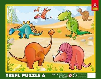 Trefl, puzzle Dinozaury-Trefl