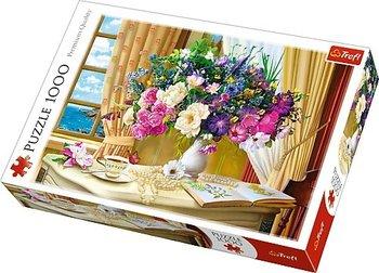 Trefl, puzzle Kwiaty o poranku