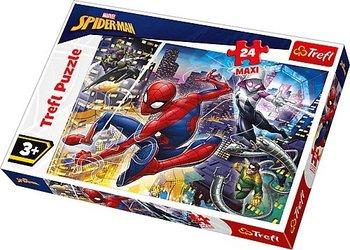 Trefl, puzzle maxi Nieustraszony Spider-Man-Trefl