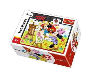 Trefl, puzzle Myszka Minnie, 19554-Trefl