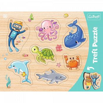 Trefl, puzzle ramkowe Podwodny Świat-Trefl