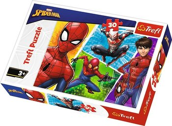Trefl, puzzle Spiderman i Miquel-Trefl