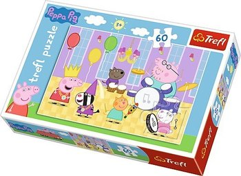 Trefl, Świnka Peppa, puzzle Świnka Peppa na balu-Trefl