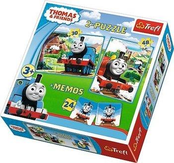 Trefl, Tomek i Przyjaciele, puzzle-Trefl