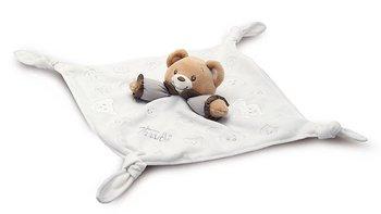 Trudi, Kocyk dla niemowląt, Miś, Baby Bear, kremowy, 26x26 cm-Trudi