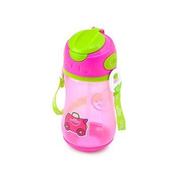 Trunki, Bidon ze słomką, Różowy Trixie-Trunki