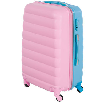 Tutumi, Walizka podróżna, Double Face Pink Blue 16, 45x33x20 cm-Tutumi