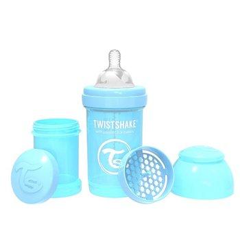 Twistshake, Butelka antykolkowa, Niebieski, 180 ml-Twistshake