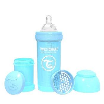 Twistshake, Butelka antykolkowa, Niebieski, 260 ml-Twistshake