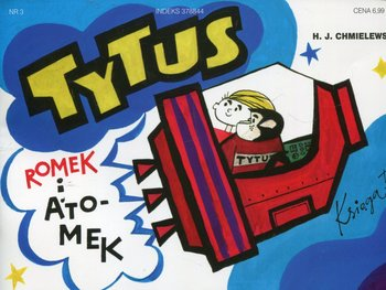 Tytus kosmonautą. Tytus, Romek i A'Tomek. Księga 3-Chmielewski Henryk Jerzy