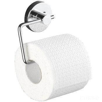 Uchwyt na papier toaletowy WENKO Milazzo, srebrny, 10x3x13 cm-WENKO