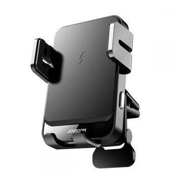 Uchwyt samochodowy na kratkę Joyroom Vent Car Mount Wireless Charger Black-JoyRoom