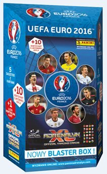 uefa euro 2016 adrenalyn xl blaster box prasa sklep empik com. Black Bedroom Furniture Sets. Home Design Ideas