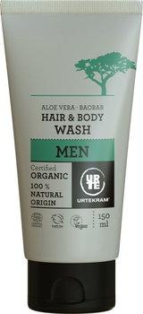 Urtekram, płyn do mycia włosów i ciała dla mężczyzn, 150 ml -Urtekram