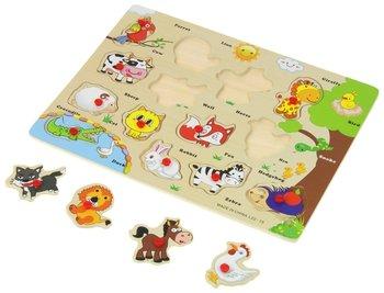 Urwiskowo, układanka puzzlowa Zwierzęta -Urwiskowo