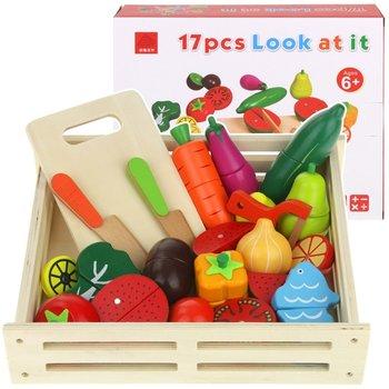 Urwiskowo, zabawka edukacyjna Warzywa i owoce do krojenia -Urwiskowo