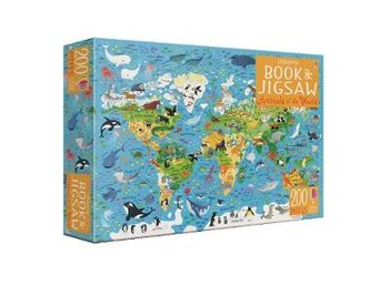 Usborne Book and Jigsaw Animals of the World-Smith Sam