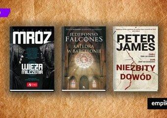 Uwielbiasz powieści Dana Browna? Te tytuły też ci się spodobają!