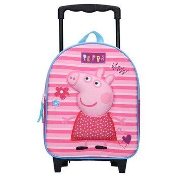 Vadobag, plecak na kółkach, Świnka Peppa, różowy-Vadobag